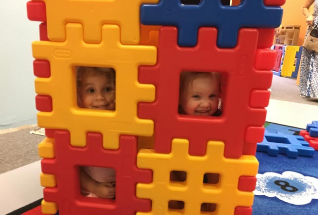 girls in lego house | Whiz Kids Play Zone & Party Place - Naples, Florida