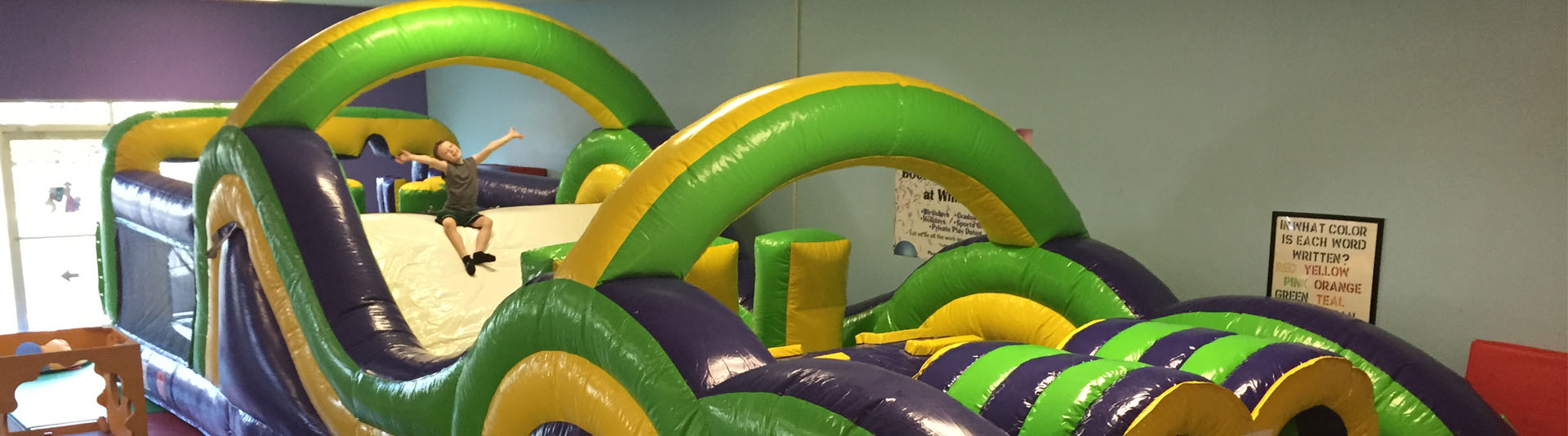 obstacle course   Whiz Kids Play Zone & Party Place - Naples, Florida