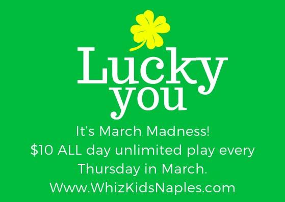 March Madness | Whiz Kids Naples