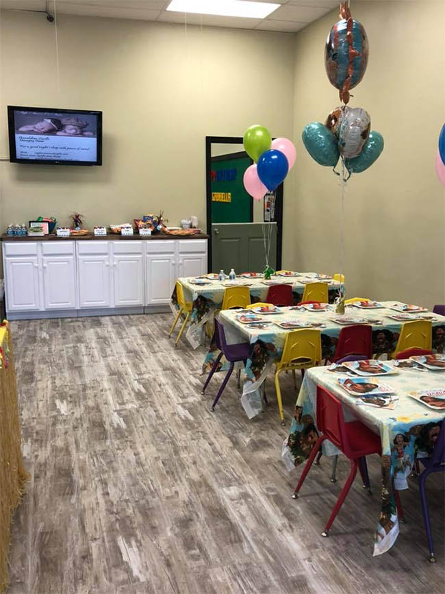Kids Party Display | Whiz Kids Play Zone & Party Place - Naples, Florida
