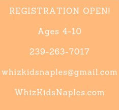 Registration - Summer Camp 2019 | Whiz Kids Naples