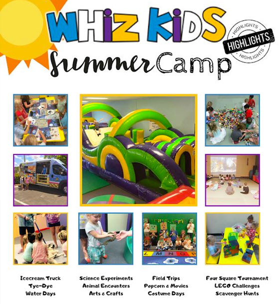 Whiz Kids Naples - Summer Camp Banner