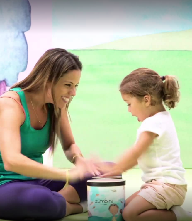 Zumbini teacher with children | Whiz Kids Play Zone & Party Place - Naples, Florida
